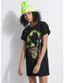 Eagle Vs Snake Longline Tee by Guess