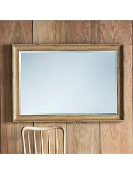 Fraser Oak 74x104cm Wall Mirror by Dunelm