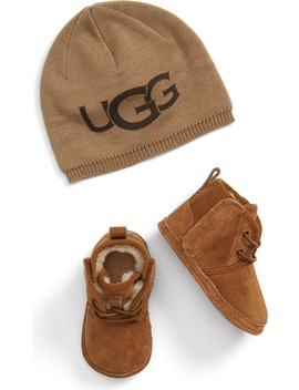Baby Neumel Boot & Beanie Set by Ugg®