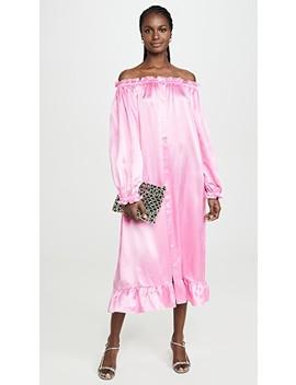 Zephyr Silk Loungewear Dress by Sleeper