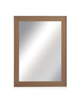 Wilko 61 X 81cm Oak Effect Wall Mirror Wilko 61 X 81cm Oak Effect Wall Mirror by Wilko