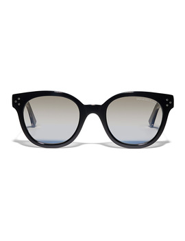 Metallic Rivet Square Sunglasses by Cutler And Gross