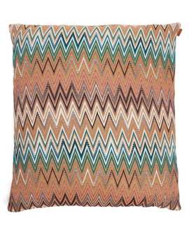 Vitim Shades Of Brown Large Cushion by Missoni Home