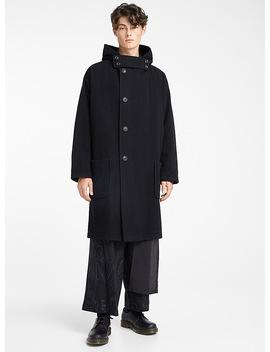 Hooded Coat by Yohji Yamamoto