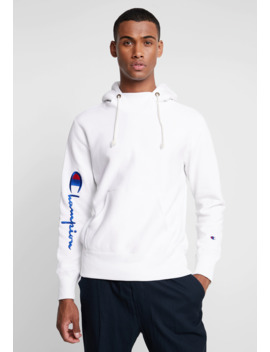 Big Script Hooded   Sweat à Capuche by Champion Reverse Weave