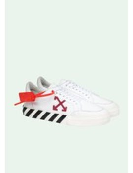 Canvas Low Vulcanized Sneakers by Off White