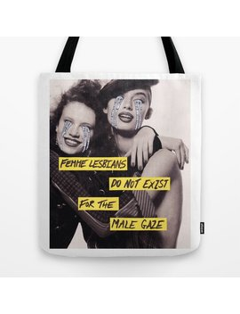 Male Gaze Tote Bag by Society6