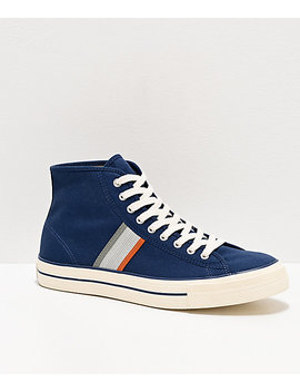 Converse X A Case Study Player Lt Navy High Top Skate Shoes by Converse