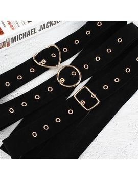 Rofuka   Grommet Belt by Rofuka