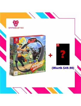 Nintendo Switch Ring Fit Adventure (Eu) + 1 Free Switch Game   Ready Stock by Nintendo