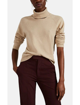 Cutout Cashmere Turtleneck Sweater by Maison Margiela