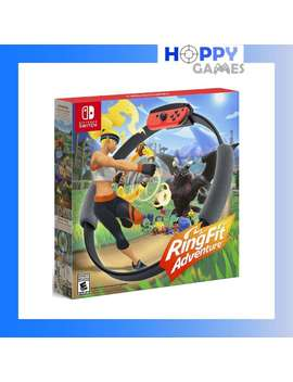 Ring Fit Adventure Nintendo Switch Ringfit Adventure [Asia] *Full English Gameplay* by Nintendo Switch