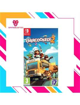 Nintendo Switch Overcooked 2 by Team17