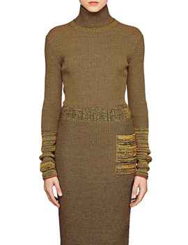 Compact Knit Turtleneck Top by Victoria Beckham