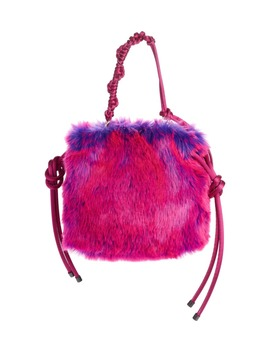 Faux Fur Shoulder Bag by Dries Van Noten