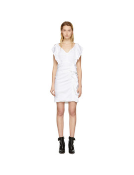 White Topaz Dress by Isabel Marant Etoile