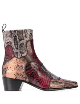Reno Patch Ankle Boots by Pierre Hardy