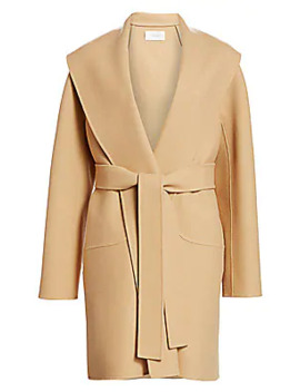 Maddy Belted Coat by The Row