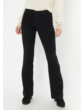 Cello Black Pull On Flare Jeans by Rue21
