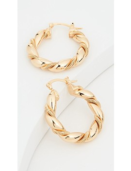 So Twisted Hoops by Shashi