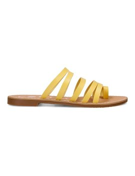 Yellow Zoom Slide   Women by Coolway