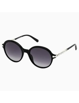 Swarovski Sunglasses, Sk264   1 B, Black by Swarovski