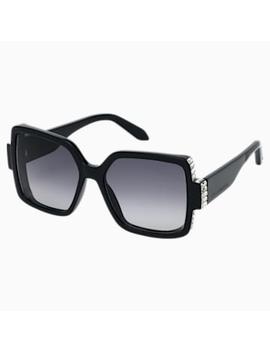 Atelier Swarovski Sunglasses, Sk237 P 01 B, Black by Swarovski