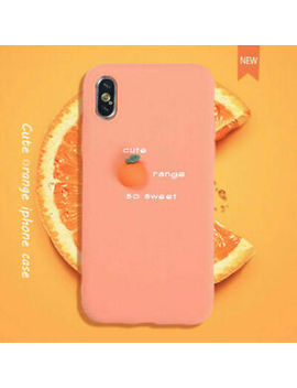Cute 3 D Fruit Soft Silicone Phone Case Cover For I Phone 11 Pro Max 8 7 6 S Plus X by Unbranded
