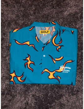 Flames Button Up by Golf Wang  ×