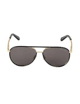 60 Mm Aviator Sunglasses by Roberto Cavalli