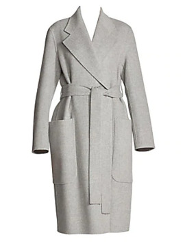 Carice Wool & Cashmere Wrap Coat by Acne Studios