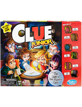 Classic Clue Junior Board Game For Kids Ages 5 And Up by Hasbro