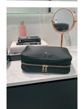 Quinn Travel Bag Black Nylon by White Fox
