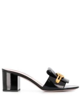 Valentino Garavani Vlogo Block Heel Sandals by Valentino