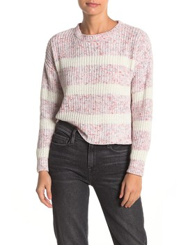 Marl Stripe Sweater by Absolutely Cotton