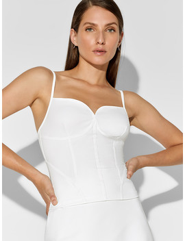 Welded Corset Tank by Dion Lee X Carbon38