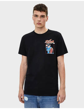 Camiseta Street Fighter by Bershka