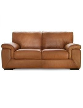 Barret 2 Seat Leather Sofa by Freedom