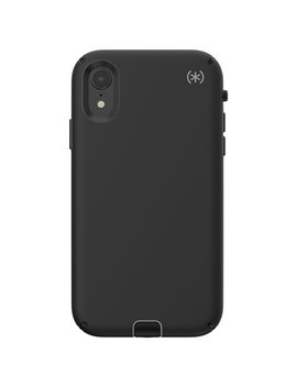 Speck Presidio Sport Fitted Hard Shell Case For I Phone Xr   Black by Best Buy