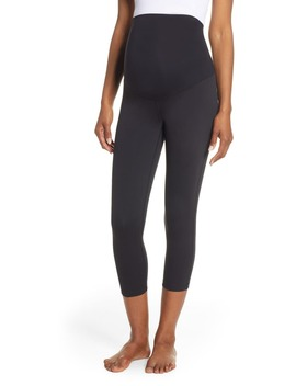 Live In Maternity Crop Leggings by Zella