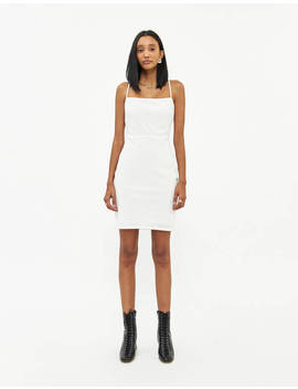 Jodie Glitter Mini Dress In White / Silver by Which We Want Which We Want