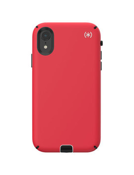 Speck Presidio Sport Fitted Hard Shell Case For I Phone Xr   Red by Best Buy