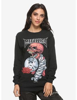 Metallica Madly In Anger With The World Tour Girls Long Sleeve T Shirt by Hot Topic
