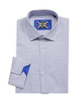 Patterned Dress Shirt by Soul Of London
