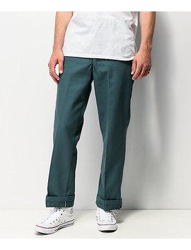 Dickies Regular Green Work Pants by Dickies