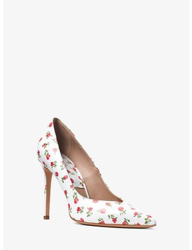 Muse Rosebud Leather Pump by Michael Kors Collection