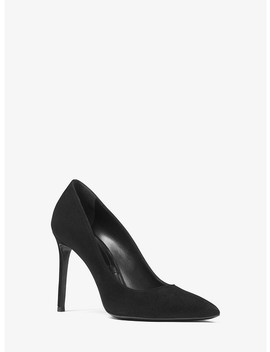 Gretel Suede Pump by Michael Kors Collection
