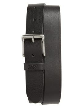 Flat Panel Leather Belt by Frye