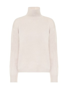 Burgos High Neck Cashmere Sweater by S Max Mara