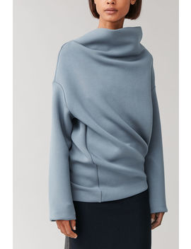 Twisted Shape Scuba Jumper by Cos